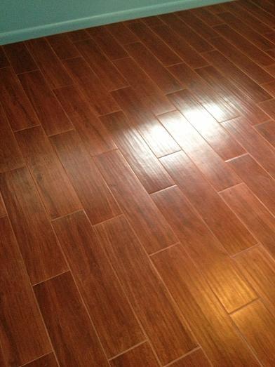 Porcelain Plank Wood Look Tile Installations Tampa, Florida ...