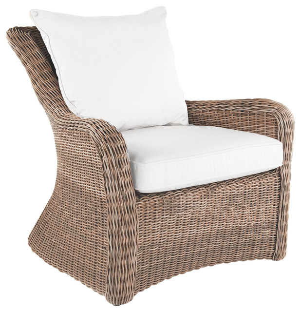 Sag Harbor Lounge Chair - By Kingsley Bate - traditional - patio