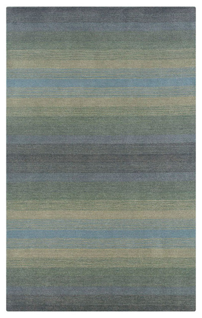 Rizzy Home Blue Jupiter Area Rug contemporary-rugs