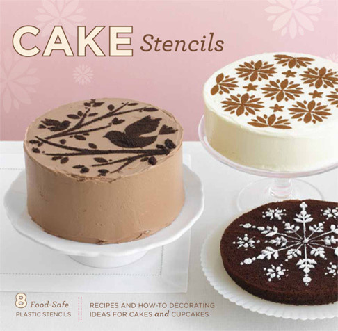 Cake Stencils, Recipes And How-To's contemporary-pastry-bags-and-tips