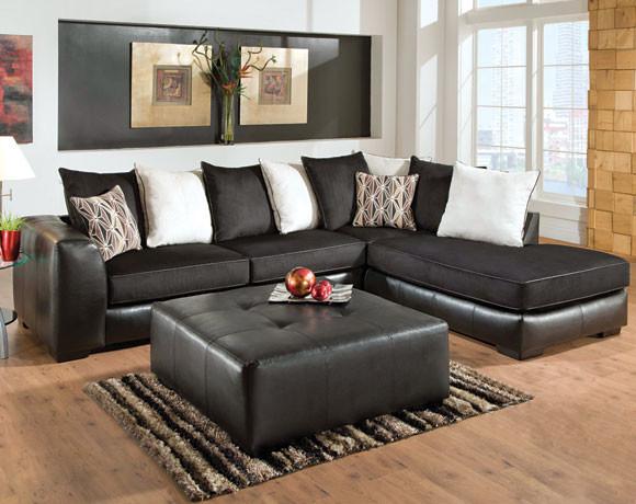 San Marino Ebony Sectional modern-sectional-sofas