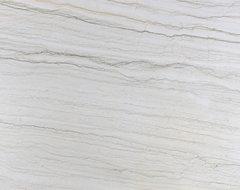 Bianco Quartzite Slab contemporary-kitchen-countertops