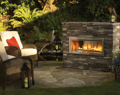 Regency Horizon HZO42 modern outdoor gas fireplace contemporary fireplaces