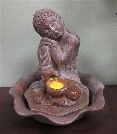 BUddha Statue Fountains, Indoor Tabletop Fountains - - outdoor ...