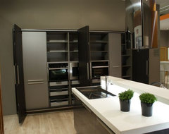 Complete Kitchen Integrated Into the Wall Option 3 modern-kitchen