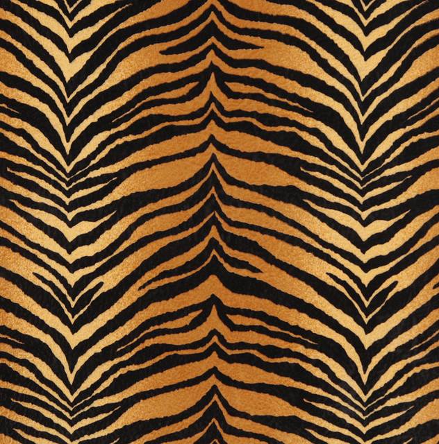 E408 tiger animal print microfiber fabric contemporary for Children s animal print fabric