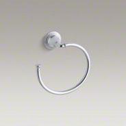 Kohler Devonshire Towel Ring K10557 towel-rings