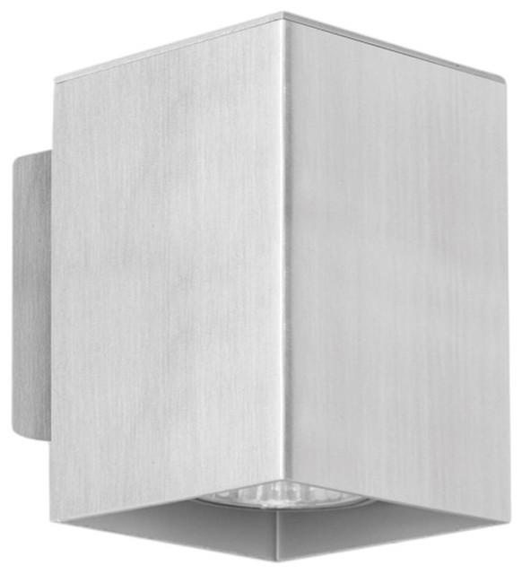 Eglo 87018A Aluminium 1X50W Wall/Ceiling Light modern-wall-sconces
