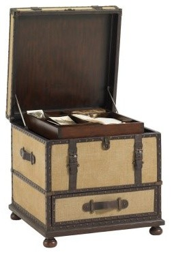 Lexington Home Brands Fieldale Lodge Gunnison Trunk Table modern-side-tables-and-end-tables
