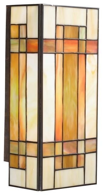 TIFFANY Art Glass Tiffany Wall Sconce X-40096 - Contemporary - Wall Sconces