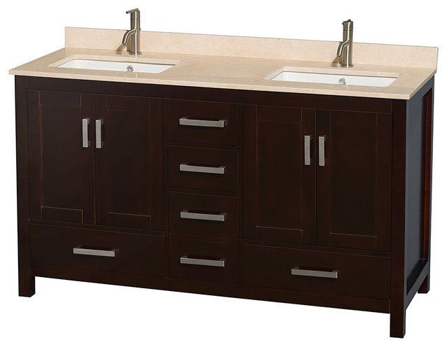 Elegant  Square Sinks  Contemporary  Bathroom Vanities And Sink Consoles  By