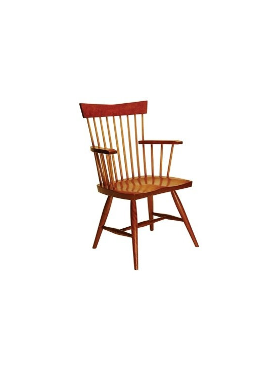 Windsor #68A American Contemporary Low Back Arm Chair -