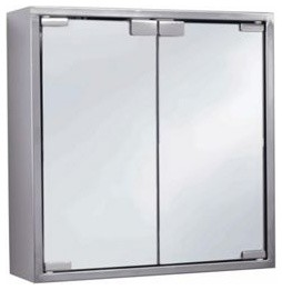 ... - Brushed Stainless Steel - Modern - Bathroom Cabinets - by Homebase