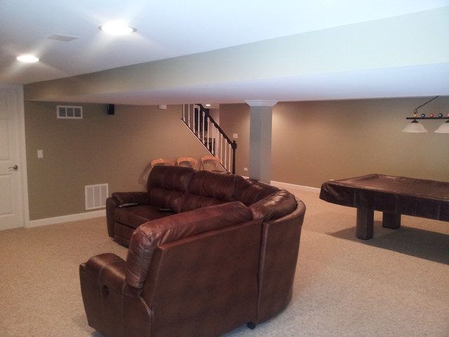 Naperville Basement Chicago By Dji Services Inc