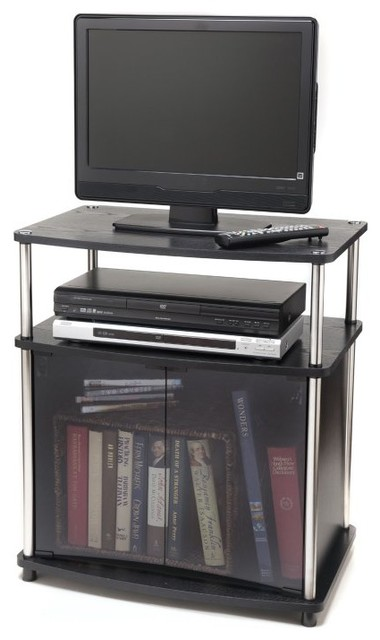 Convenience Concepts Designs2Go TV Stand with Cabinet Multicolor - 151056 contemporary-furniture