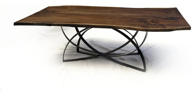 Black Walnut Dining Table by Cherrywood Studio contemporary-dining-tables