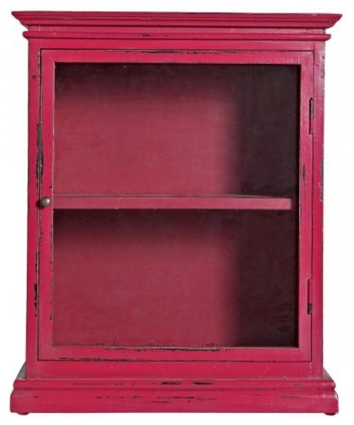 Distressed Wall Cabinet (Various Colours) - Rustic - Display And Wall ...