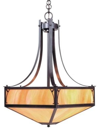 Saint George Bowl by Arroyo Craftsman modern-pendant-lighting