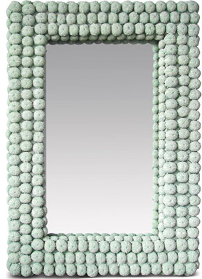 Sea Urchin Mirror eclectic-wall-mirrors