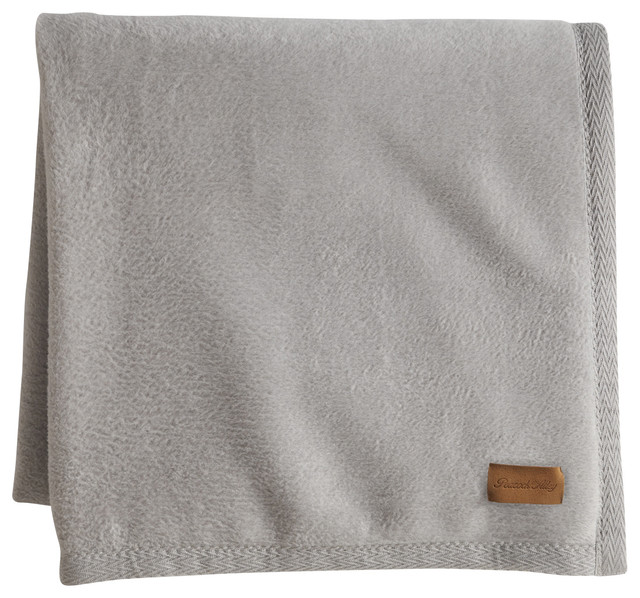 All Seasons Blanket, Flint, Throw contemporary-throws