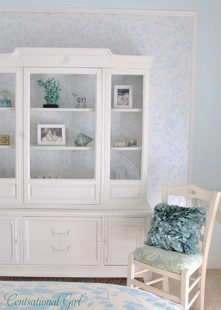 painted hutch traditional bedroom other metro by kate riley