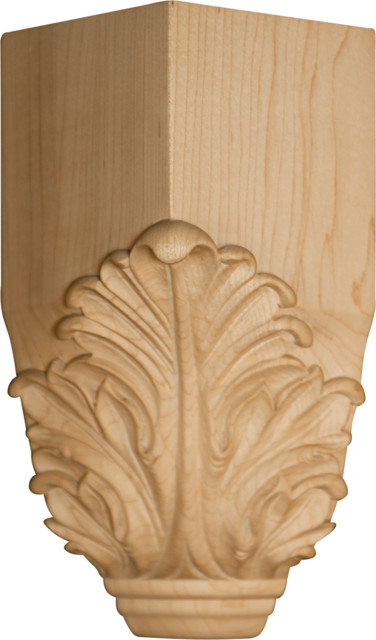 Acanthus leaf inside corner block home decor atlanta for Acanthus decoration