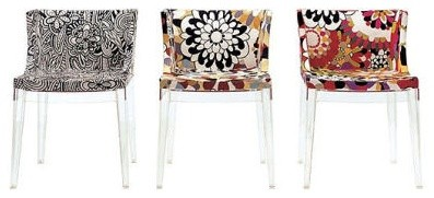 Kartell - Mademoiselle Chair contemporary chairs