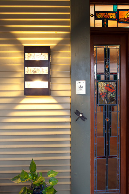 3. Slat Wall Sconce traditional