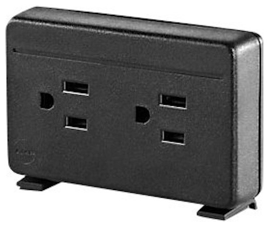 Herman Miller Desktop Power Outlet modern-switches-and-outlets