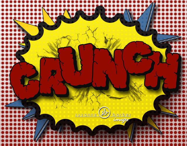 11x14 Print of Comic Book Sound Crunch Original Design - superhero theme room - Modern - Artwork ...