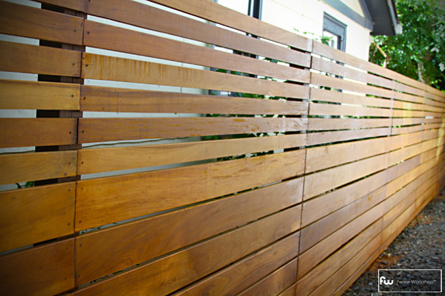 The Skyline Wood Privacy Fence  fencing