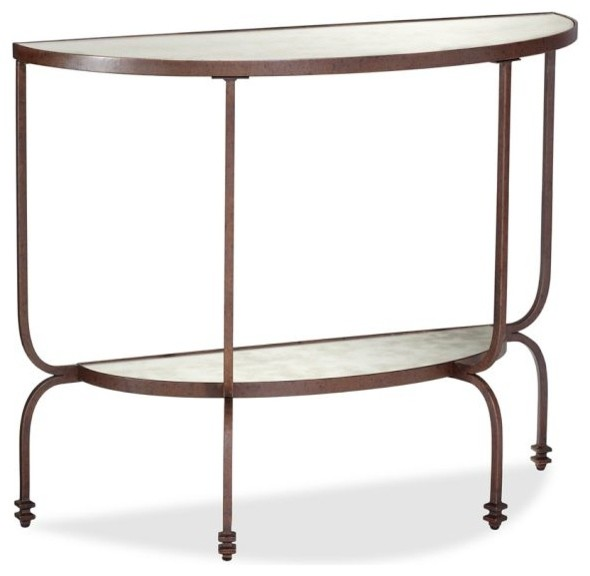 Willow Demilune Console Table - Contemporary - Side Tables And End Tables - by Pottery Barn