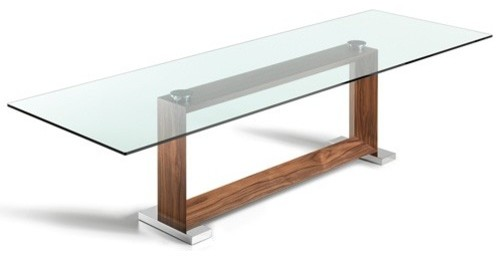 Cattelan Italia | Monaco Dining Table, 94-Inch modern-dining-tables