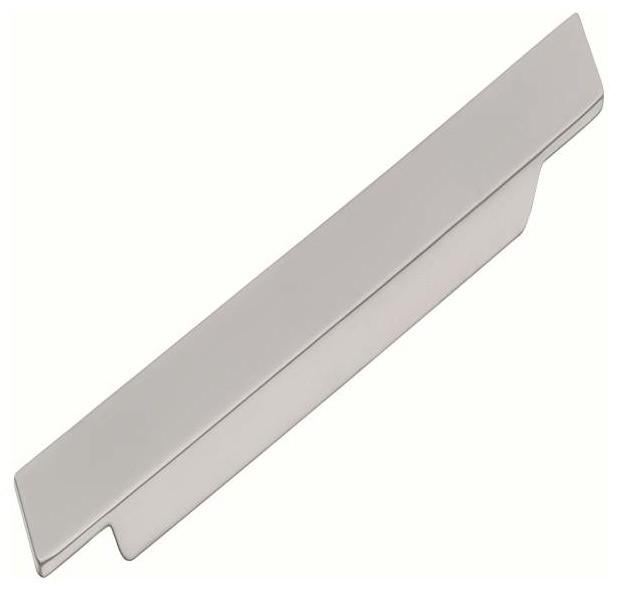 Schwinn Hardware Modern Surfboard Pull, 9 1/5 Inch Satin Nickel - Contemporary - Cabinet And ...