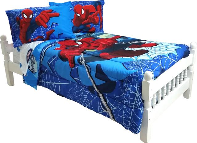 ... Bedding Superhero Astonish Bed Set - Contemporary - Kids Bedding - by