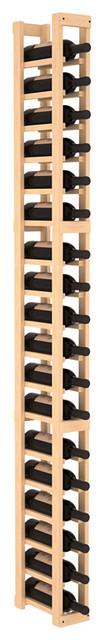 1 Column Standard Wine Cellar Kit in Pine, (Unstained) contemporary-wine-racks