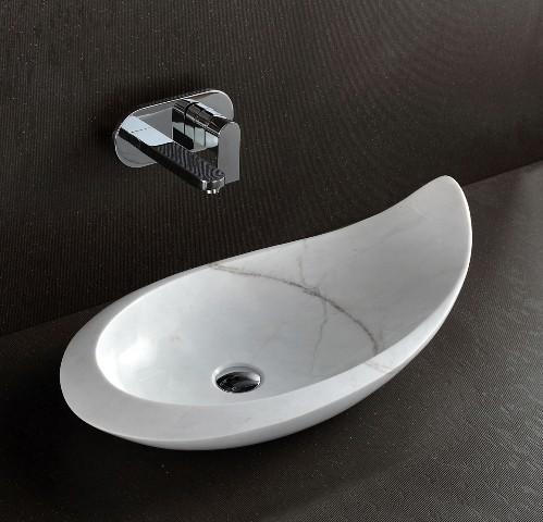 Komo Above Counter White Stone Basin Modern Bathroom Sinks. Komo Above Counter White Stone Basin Modern Bathroom Sinks Basin