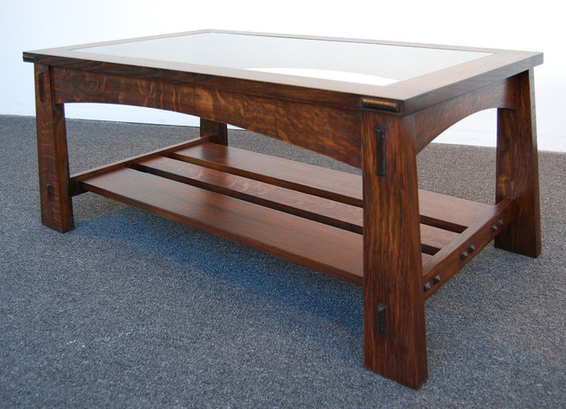 Mission Style Coffee Table Coffee Tables Milwaukee By Sebald Millwork Llc