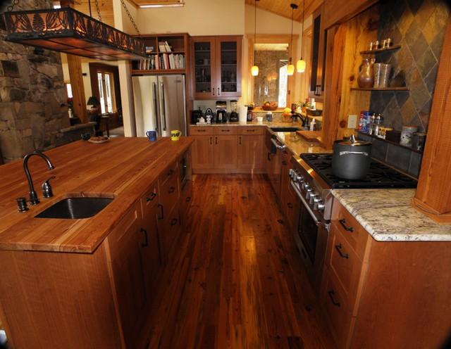 Parkenberg home traditional-kitchen
