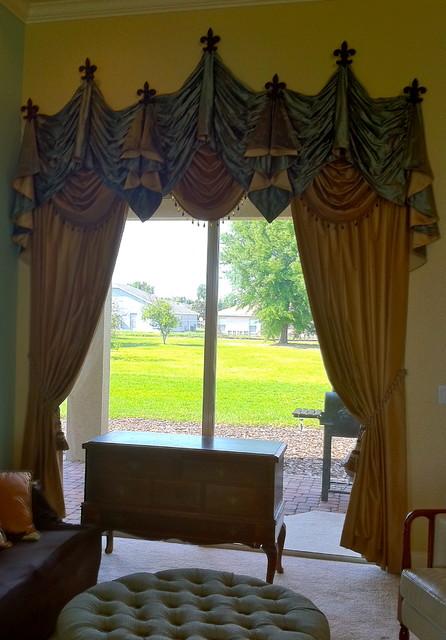 Top Treatment Ideas mediterranean-curtains