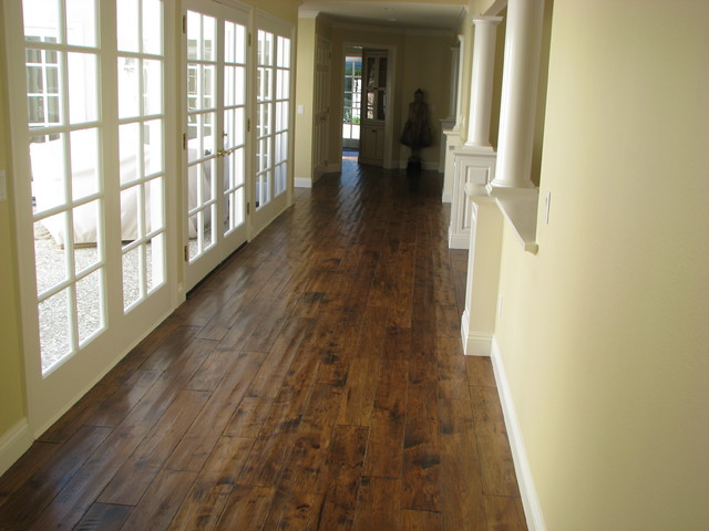 Hardwood Flooring traditional-hall