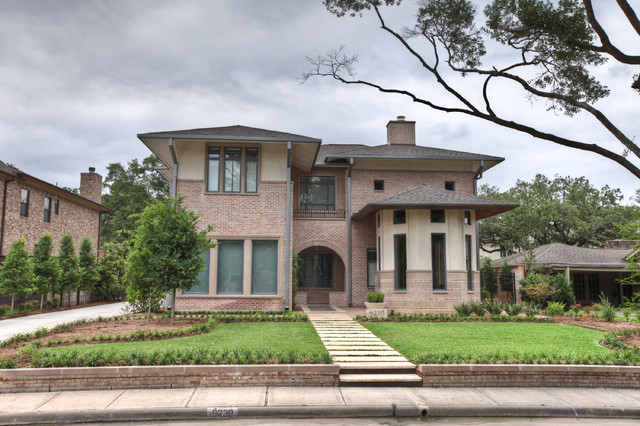 Chevy Chase Residence transitional-exterior