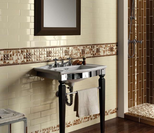 Grazia Listelli Panna Wall Tiles traditional-tile