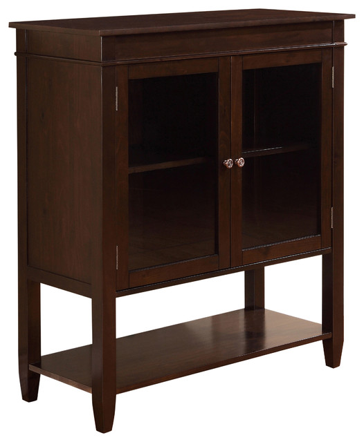 carlton 40 inch wide medium storage cabinet in tobacco