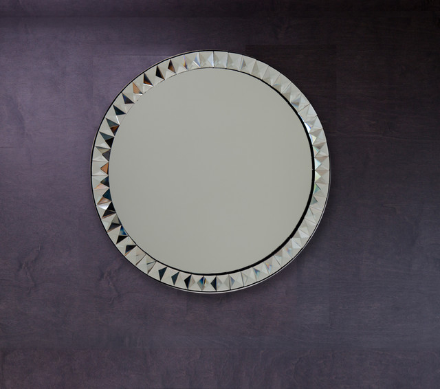 Large Round Mirror for Wall - Geneva Mirror contemporary-wall-mirrors