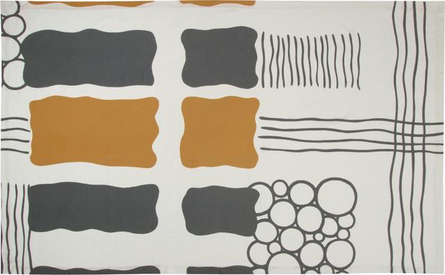 Cromford Modern Linen Tablecloth contemporary-tablecloths