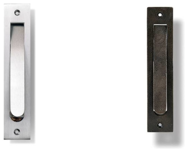 Large Door Edge Pull - Traditional - Cabinet And Drawer Handle Pulls - new york - by Hamilton ...