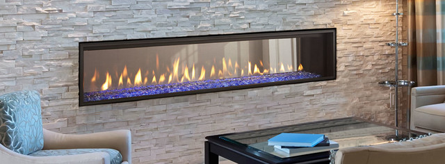 Crave See Through Series Gas Fireplace Modern Living