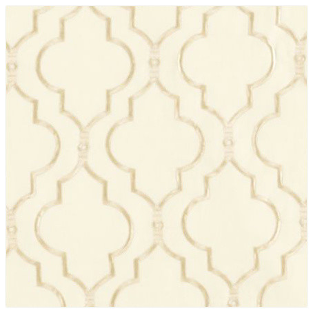 Firenze Embroidered Panel, Ivory mediterranean-curtains