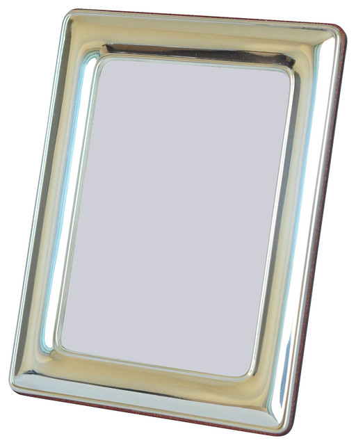 """3.5""""x5"""" Classico Sterling Silver Picture Frame contemporary-frames"""